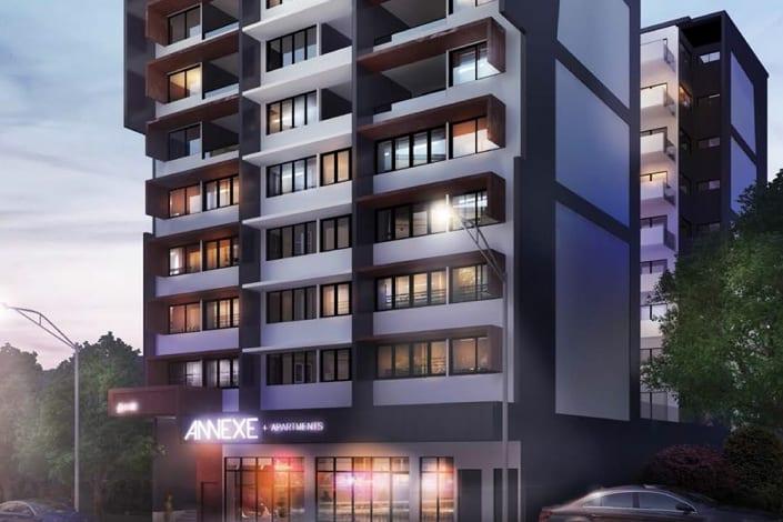 Annexe Apartments - Sunpak Project Herston Brisbane QLD